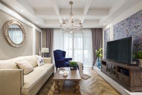 歐式風格客廳吊頂效果圖片歐式風格客廳隔斷設計