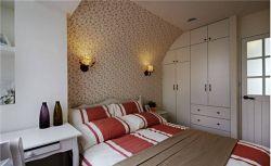 佳兆業田園160平四居室臥室裝修案例