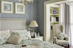 泰合慢城八島簡歐110平三居室臥室裝修案例