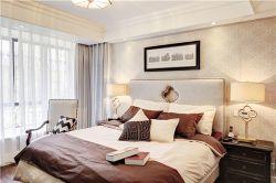 泰合慢城八島簡歐126平三居室臥室裝修案例