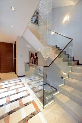 2019現代風格樓梯裝修效果圖 現代風格樓梯扶手