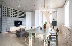泰合尚渡北歐81平二居室餐廳裝修案例