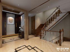 中式風格樓梯圖片 2019中式風格樓梯裝修效果圖