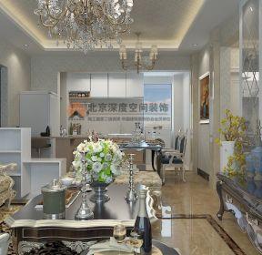 東涫首座洛可可歐式風格小戶型客廳裝修效果圖-每日推薦