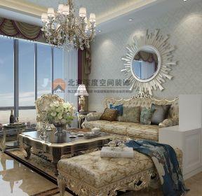 東涫首座洛可可歐式風格客廳沙發裝修效果圖-每日推薦
