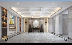 曦城別墅1400平現代風格門廳裝修效果圖