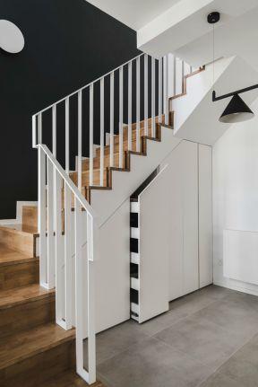 2019躍層樓梯裝修效果圖片 2019躍層樓梯間設計效果圖