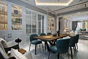 2019現代餐廳裝潢效果圖 2019現代餐廳裝修設計圖 2019現代餐廳3D效果圖