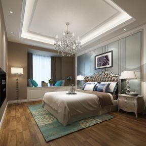 歐式臥室布置 歐式臥室風格 歐式臥室家居裝修效果圖
