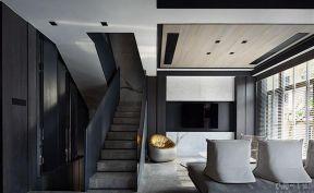 客廳樓梯設計 2019別墅客廳樓梯效果圖