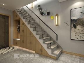 2019樓梯背景墻效果圖 樓梯背景墻圖片