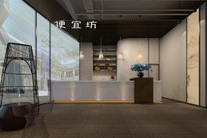 便宜坊800㎡烤鸭中餐厅装修案例