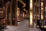 中式800平米泰鼎多功能养生餐厅装修案例