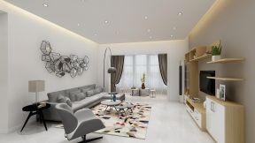 家装客厅沙发背景墙 客厅沙发颜色图片