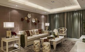 新中式风格客厅装修效果图 新中式风格客厅装修效果图片