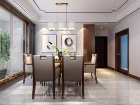 2019新中式風格餐廳裝修效果圖 新中式風格餐廳設計