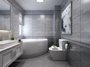 2019衛生間浴缸效果圖 2019整體衛生間浴缸圖片