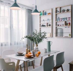 現代風格120平米復式餐廳裝修效果圖片賞析-每日推薦