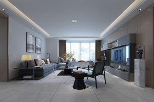 天元世家北欧148平三居室装修案例