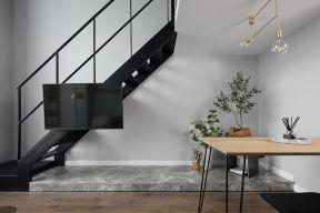 復式餐廳裝修效果圖  復式樓樓梯裝修效果