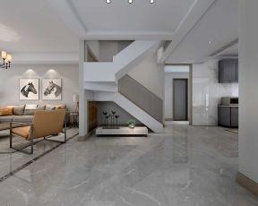 現代簡約復式客廳裝修效果圖 現代簡約復式房裝修設計
