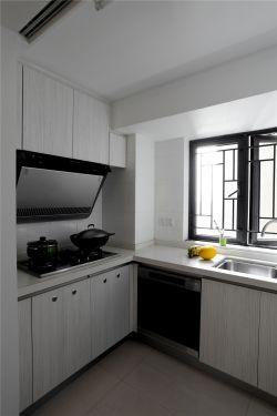三居室140平米現代簡約風格廚房裝修圖片大全