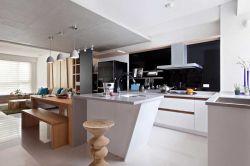 簡約風格133平米三居室廚房裝修效果圖片