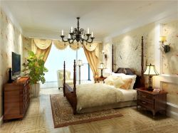 混搭風格89平米兩居室臥室裝修效果圖片大全