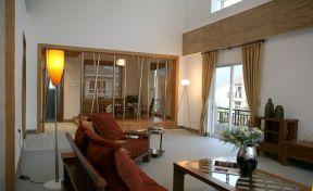 2019家裝中式客廳效果圖 現代中式客廳裝飾效果圖