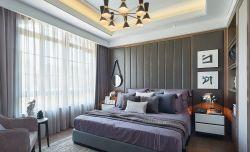 嘉和逸家90㎡現代歐式臥室裝修效果圖