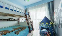 歐式風格128平三居室兒童房裝修效果圖片大全
