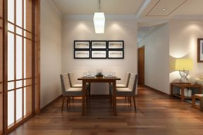 新中式餐廳裝修效果圖 新中式餐廳背景墻
