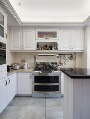新中式厨房装修效果图开放式 新中式厨房装修效果图大全