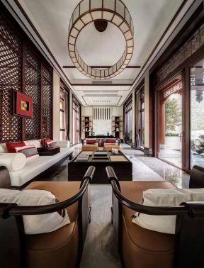 中式客廳圖片大全 中式客廳天花  中式客廳效果圖片