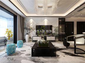 新中式風格客廳效果圖 新中式風格客廳圖片 新中式風格客廳背景墻
