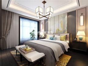 新中式臥室裝修效果圖  新中式臥室裝修風格 新中式臥室裝修圖片