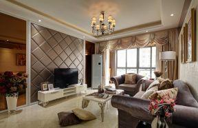客廳吊頂裝飾圖片 客廳電視墻設計圖