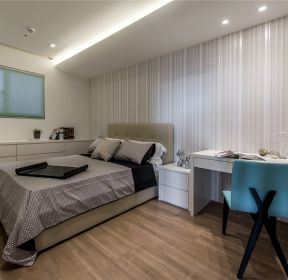 珠海心海州80㎡现代简约卧室装修效果图-每日推荐