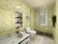 現代風格三居室90平米衛生間裝修效果圖片大全