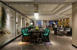 現代風格三居室120平餐廳裝修效果圖片欣賞