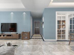 自然界160平米四居室北欧风格走廊吊顶装修设计效果图图片