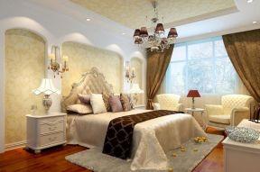 現代風格臥室裝修圖 現代風格臥室吊燈效果圖