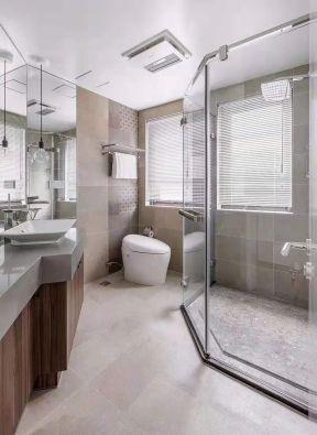 友邦世界城小户型128平欧式风格浴室装修设计效果图