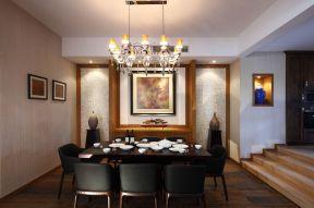 餐廳布置效果圖 餐廳錯層裝修效果圖 餐廳吊燈圖片大全