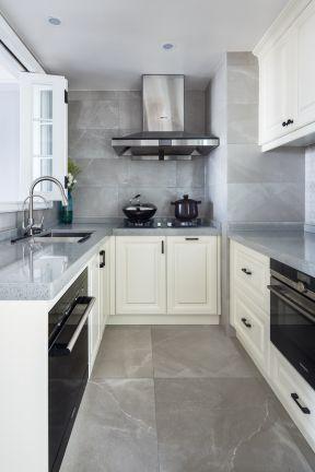 u型厨房装修效果图 u型厨房设计