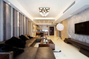 客厅沙发摆放效果图片大全 木质茶几装修效果图片