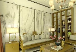 新中式客廳裝修效果圖片大全 新中式客廳背景墻裝修效果圖