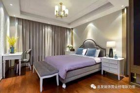 臥室窗簾裝修效果圖  臥室床尾凳效果圖