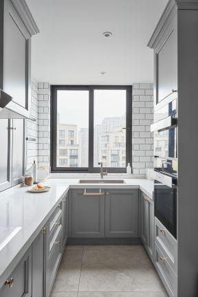 美式廚房裝修圖 美式廚房裝修效果圖大全2019圖片