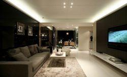 三居室現代風格110平客廳裝修效果圖片大全